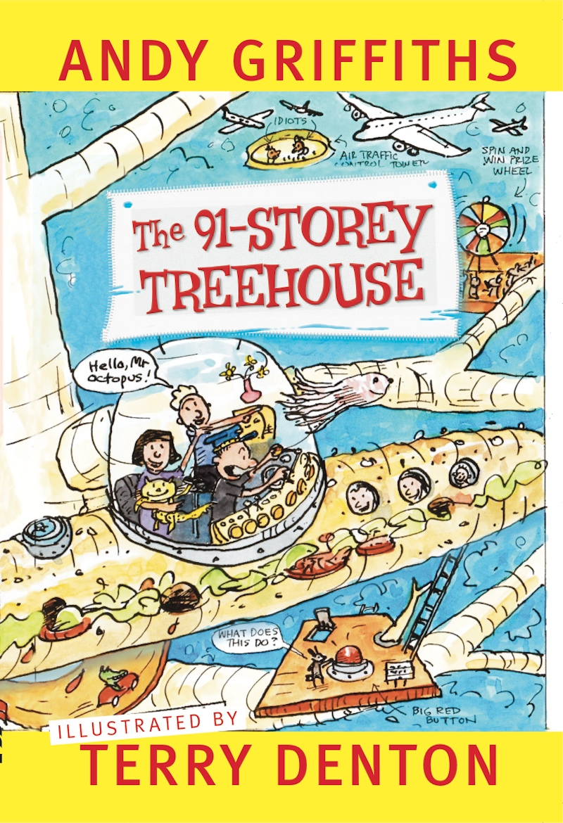 Andy Griffiths Treehouse Part - 24: ... The Treehouse With Childrenu0027s Author, Andy Griffiths. All Questions  Will Be Answered, (even The Silly Ones). Andy Will Be Signing Books After  His Talk.